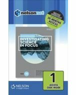 Investigating Science in Focus Year 11 (1 Access Code)
