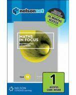 Maths in Focus Mathematics Advanced Year 11 Access Code
