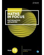 [Pre-order] Maths in Focus Advanced Year 12 Student Book with 1 Access Code [Due Oct 2019]