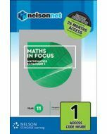 Maths in Focus Mathematics Extension 1 Year 11 Access Code
