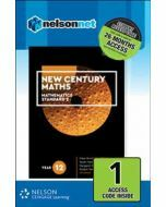 New Century Maths 12 Mathematics Standard 2 (1 Access Code)