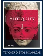 Antiquity 1 Year 11 4E Teacher obook assess (Teacher Access Code)