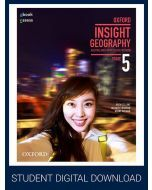 Oxford Insight Geography AC for NSW Stage 5 Student obook assess (Access Code)