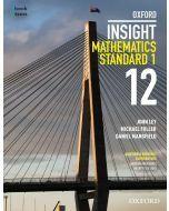 Oxford Insight Mathematics Standard 1 Year 12 Student book + obook assess