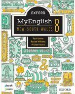 Oxford MyEnglish 8 NSW Student Book + obook assess