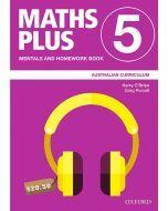 Maths Plus Australian Curriculum Mentals and Homework Book 5, 2020