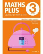 Maths Plus NSW Mentals and Homework Book 3, 2020