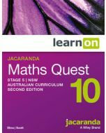 Jacaranda Maths Quest 10 Stage 5 NSW AC 2E LearnON (Access Code)
