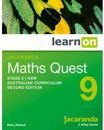 Jacaranda Maths Quest 9 Stage 5 NSW AC 2E LearnON (Access Code)