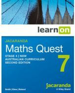 Jacaranda Maths Quest 7 Stage 4 NSW AC 2E LearnON (Access Code)