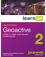 Jacaranda Geoactive 2 NSW AC Edition Stage 5 learnON (Access Code)