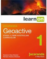 Jacaranda Geoactive 1 NSW AC Edition Stage 4 learnON (Access Code)
