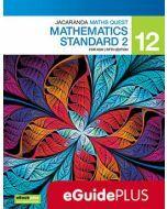 Jacaranda Maths Quest NSW 12 Mathematics Standard 2 5E eGuidePLUS (Teacher Access Code)