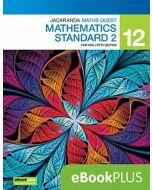 Jacaranda Maths Quest NSW 12 Mathematics Standard 2 5E eBookPLUS (Access Code)
