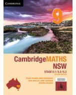 CambridgeMATHS NSW Year 9 5.1/5.2/5.3 Second Edition (print and interactive textbook)