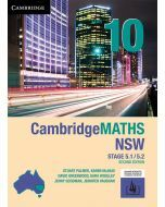 CambridgeMATHS NSW Year 10 5.1/5.2 Second Edition (print and interactive textbook)