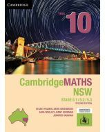 CambridgeMATHS NSW Year 10 5.1/5.2/5.3 Second Edition (print and interactive textbook)