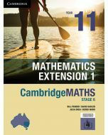 CambridgeMATHS Mathematics Extension 1 Year 11 (print and interactive textbook)