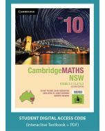 CambridgeMATHS NSW Year 10 5.1/5.2/5.3 Second Edition interactive textbook (Access Code)