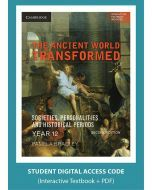 The Ancient World Transformed Year 12 (Digital Access Code)