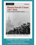 Russia and the Soviet Union 1917-1941 Second Edition (Digital Access Code)