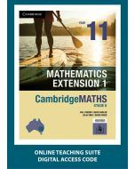 CambridgeMATHS Mathematics Extension 1 Year 11 Online Teaching Suite