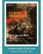 Cities of Vesuvius: Pompeii and Herculaneum Third Edition (Digital Access Code)