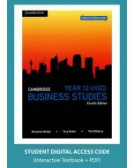 Cambridge Business Studies Year 12 4e (Digital Access Code)