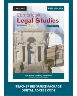 Cambridge Preliminary Legal Studies 4E Teacher Resource Package (1 Teacher Access Code)