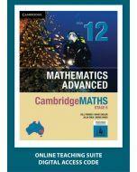 CambridgeMATHS Mathematics Advanced Year 12 Online Teaching Suite