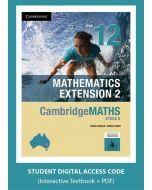 CambridgeMATHS Mathematics Extension 2 Year 12 interactive textbook (Access Code)