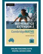 CambridgeMATHS Mathematics Extension 2 Year 12 Online Teaching Suite
