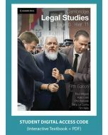 Cambridge Legal Studies Stage 6 Year 11 5e digital (Access Code)