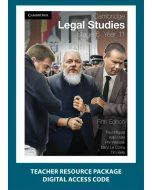 Cambridge Legal Studies Stage 6 Year 11 5e Teacher Resource Package (Access Code)