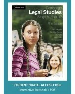 Cambridge Legal Studies Stage 6 Year 12 5e digital (Access Code)