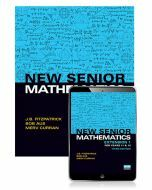 New Senior Mathematics Extension 1 Year 11 & 12 Student Book with eBook (3e)