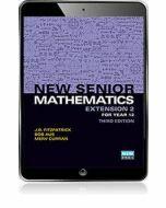 New Senior Mathematics Extension 2 Year 12 eBook Access Code (3e)