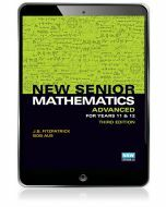New Senior Mathematics Advanced Year 11 & 12 eBook Access Code (3e)