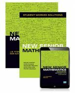 New Senior Mathematics Advanced Year 11 & 12 Student Book, eBook and Student Worked Solutions Book (3e)
