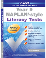 Excel NAPLAN*-style Literacy Tests Year 9