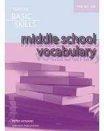Middle School Vocabulary (Basic Skills Item 200)