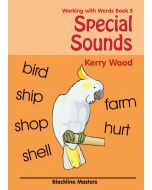 Working with Words Book 5: Special Sounds Blackline Masters