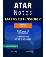ATAR Notes: Year 12 Mathematics Extension 2 Topic Tests (2020-2022)