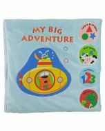 My Big Adventure Soft Book (Ages 10+ months)