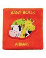 Plush Baby Book: Animals