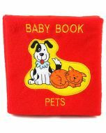 Plush Baby Book: Pets