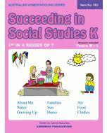 Succeeding in Social Studies Kindergarten (Title No. 503)