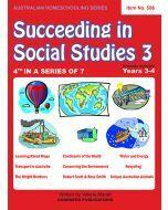 Succeeding in Social Studies Year 3 (Title No. 506)