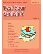 Test Your English 4 (Item no. 533)