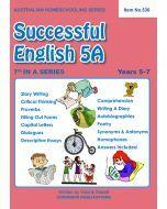 Successful English 5A - Australian Homeschooling Series (Item No. 536)